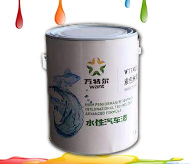 调漆店创业新机遇----水性汽车漆