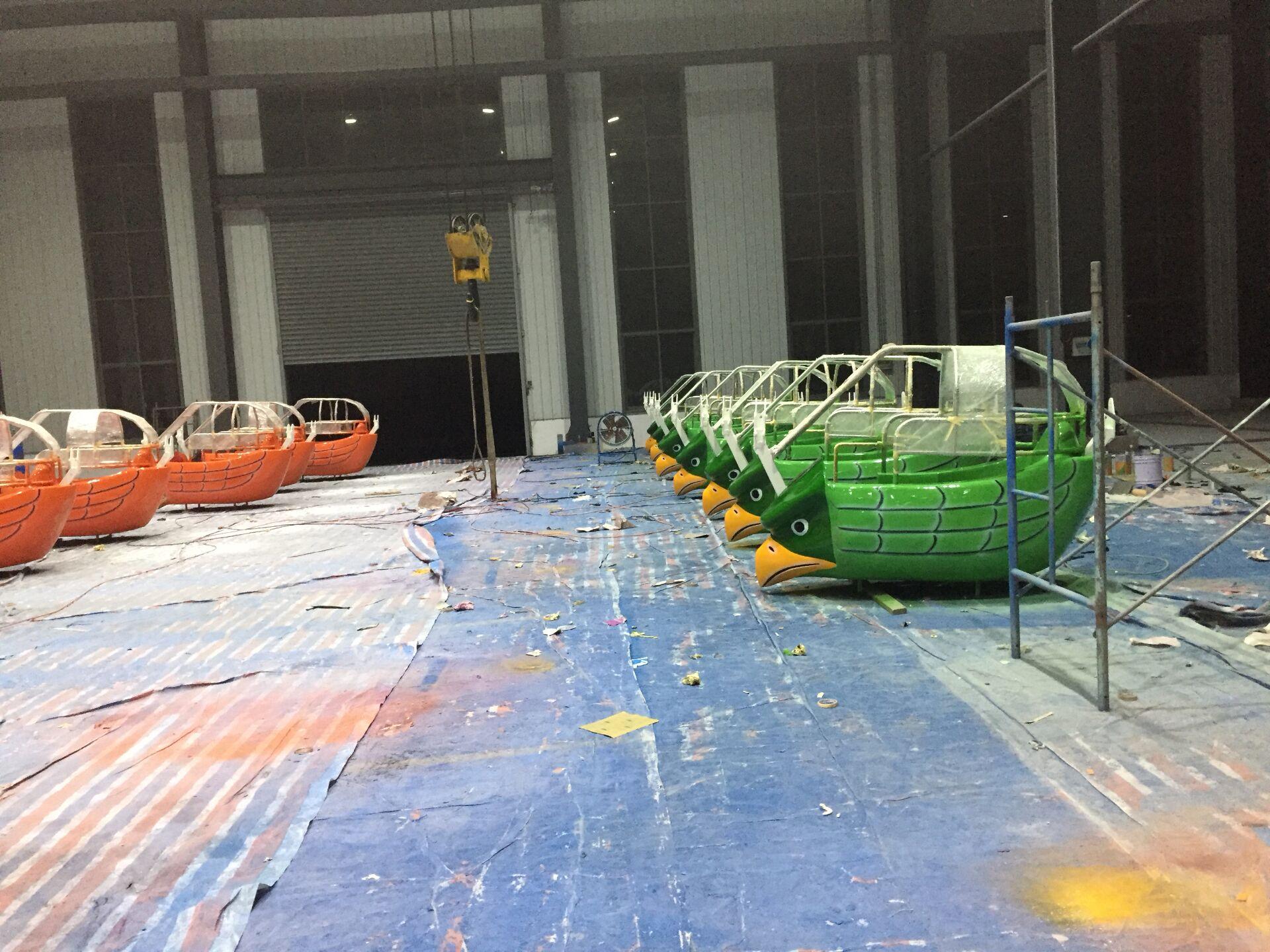万特涂料为万德沃游乐设施有限公司配套油漆产品